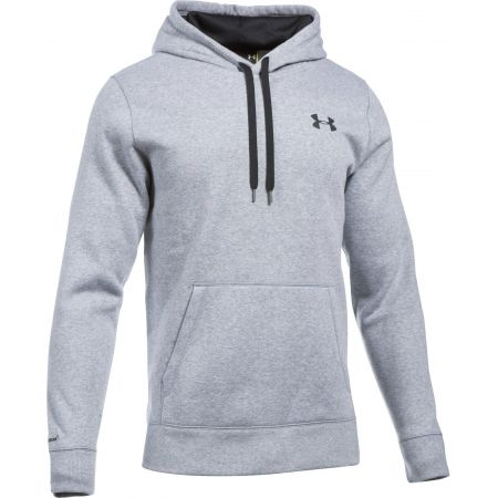 MIKINA UNDER ARMOUR Storm Rival Cotton H - šedá  c84afdc9f39