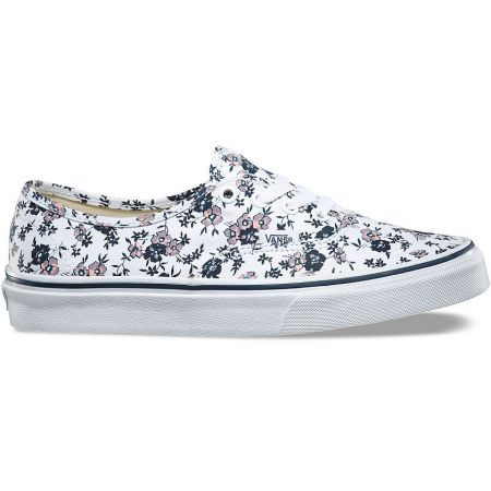 BOTY VANS AUTHENTIC (DITSY BLOOM) - bílá  40fe9db645