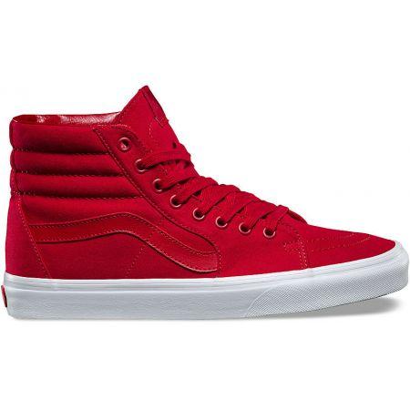 BOTY VANS SK8-HI - červená