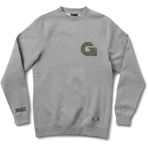 MIKINA GRIZZLY CERTIFIED CREWNECK