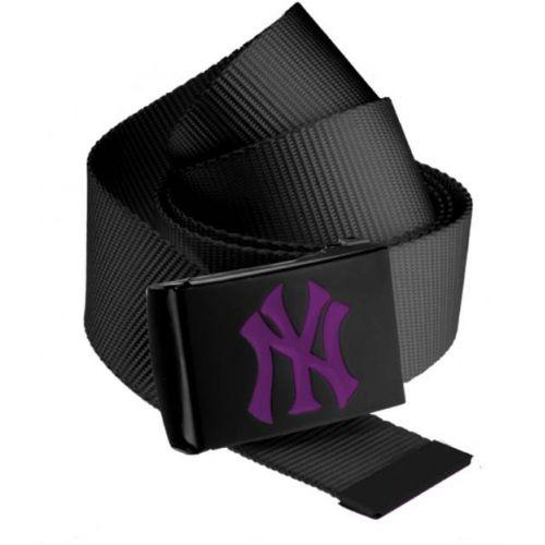 PÁSEK MSTRDS MLB Premium Black Woven