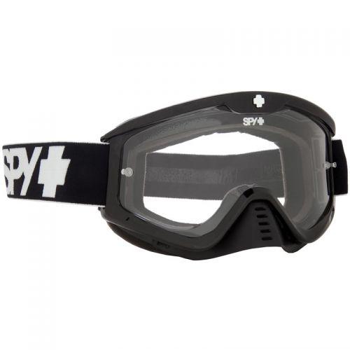 SPY WHIP BLACK ENDURO - DUAL PANE CLEAR