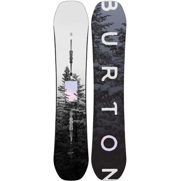 SNOWBOARD BURTON FEELGOOD FLYING V WMS