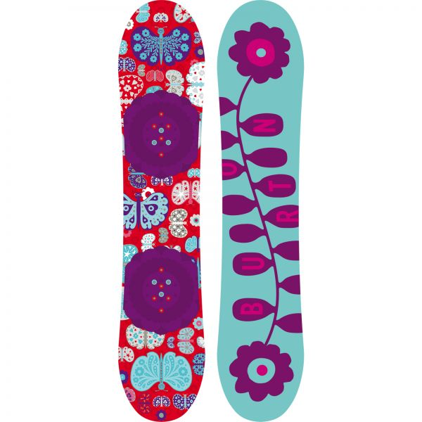SNOWBOARD BURTON CHICKLET GIRLS 2015
