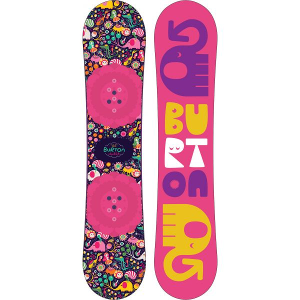 SNOWBOARD BURTON CHICKLET KIDS