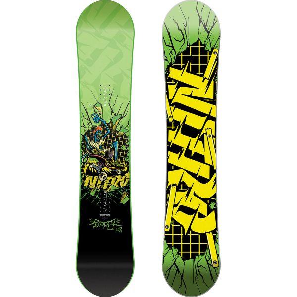 SNOWBOARD NITRO RIPPER KIDS GREEN 17