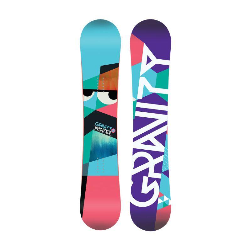 SNOWBOARD GRAVITY VOAYER - tyrkysová (152) - 152