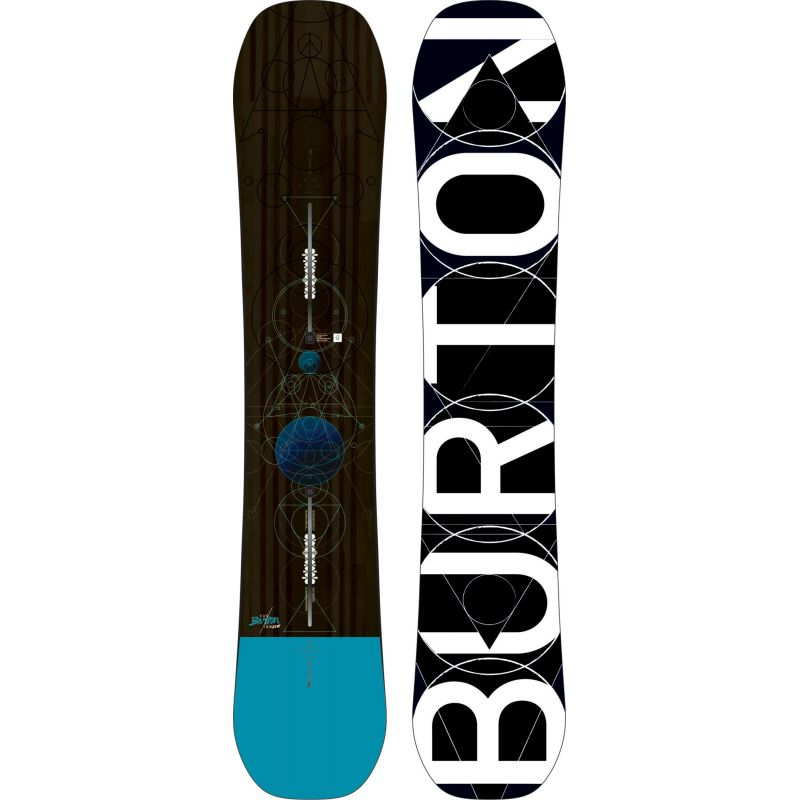 SNOWBOARD BURTON CUSTOM - 162W