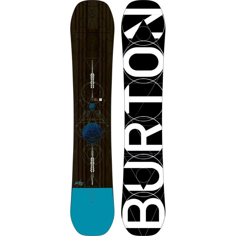 SNOWBOARD BURTON CUSTOM - černá - 162