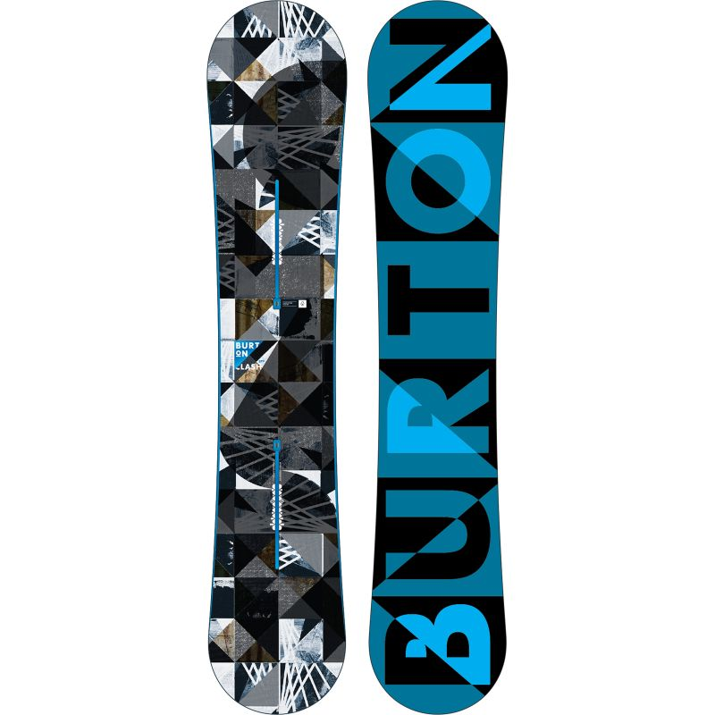 SNOWBOARD BURTON CLASH 2015 - černá (157W) - 157W