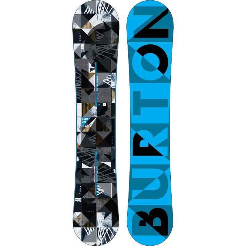 SNOWBOARD BURTON CLASH 2015 - černá (158) - 158
