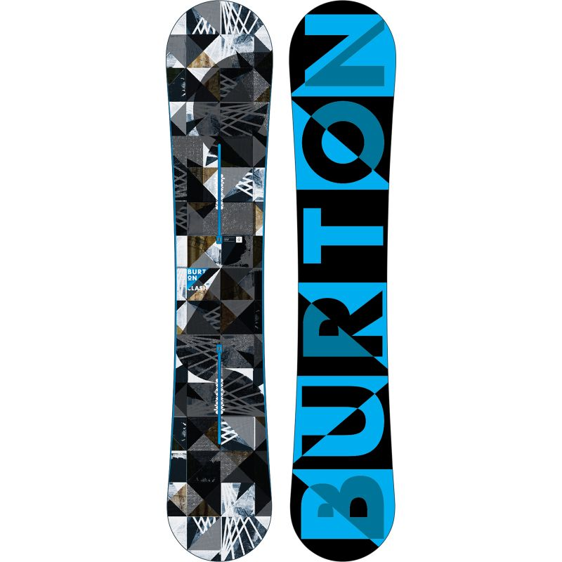 SNOWBOARD BURTON CLASH 2015 - černá (160) - 160