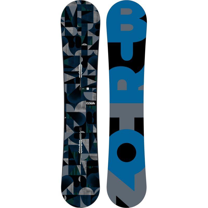SNOWBOARD BURTON NEW NAME CLASH 2016 - tmavě modrá - 160