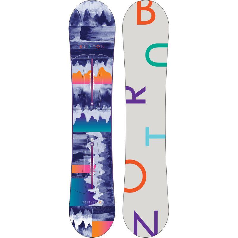 SNOWBOARD BURTON FEATHER WMS 2015 - námořnická modř - 140