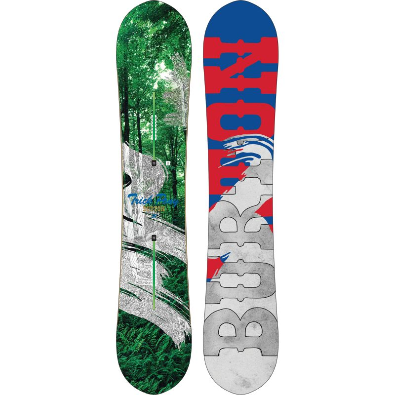 SNOWBOARD BURTON TRICK PONY 2015 - zelená - 158