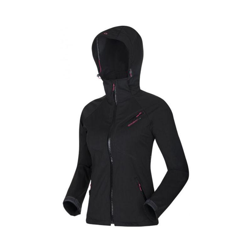 Husky dámská softshell bunda Emelin černá, S - černá (husky) - M