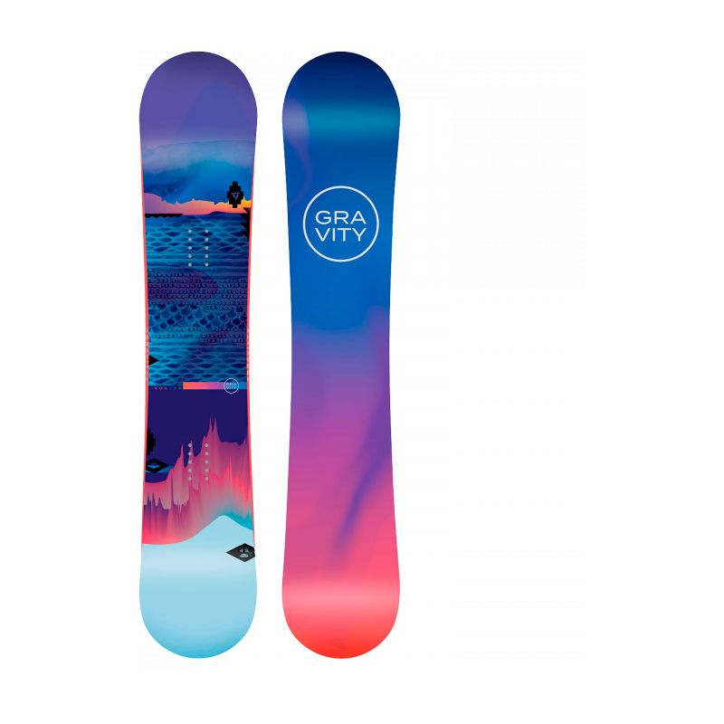 SNOWBOARD GRAVITY VOAYER WMS - modrá - 150