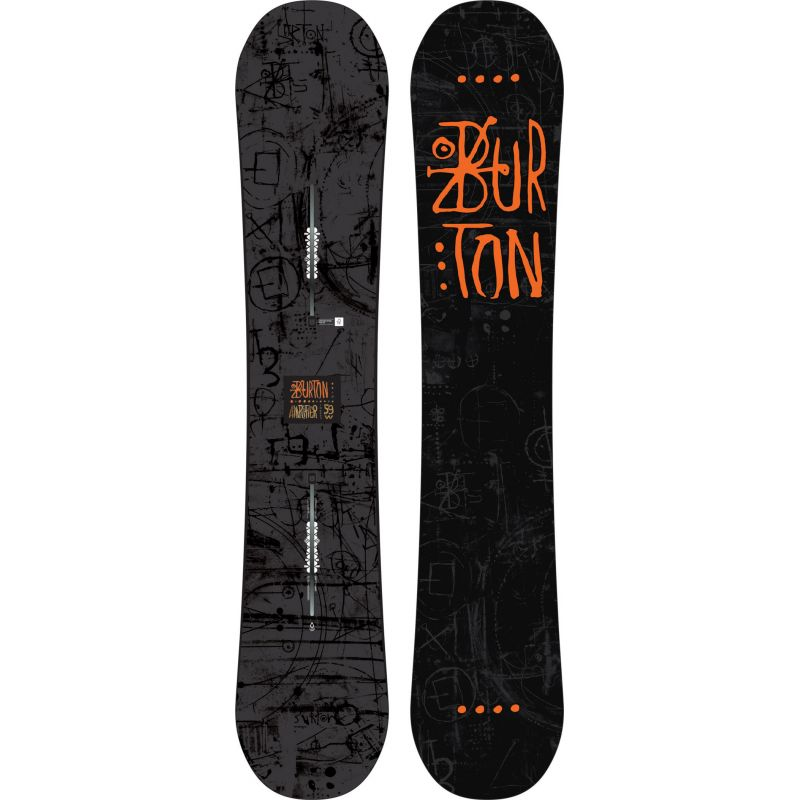SNOWBOARD BURTON AMPLIFIER - antracitová - 159W