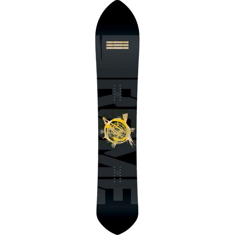 SNOWBOARD ROME Pow Division - černá (160) - 160