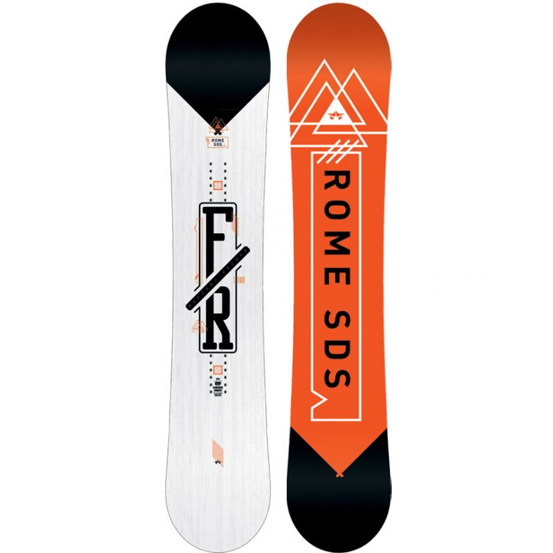 SNOWBOARD ROME FACTORY ROCKER - bílá (152) - 152