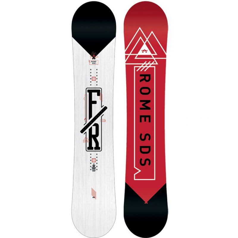 SNOWBOARD ROME FACTORY ROCKER - bílá (155) - 155