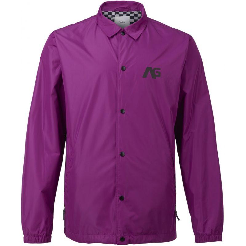 Burton campton - purpurová - L