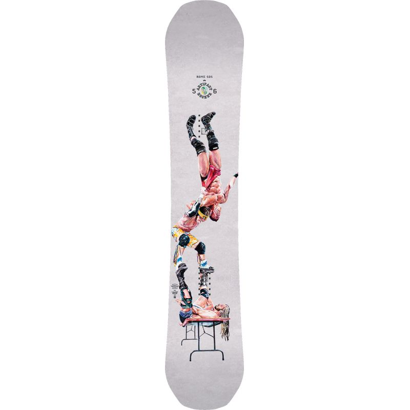SNOWBOARD ROME Artifact Rocker - bílá (156) - 156