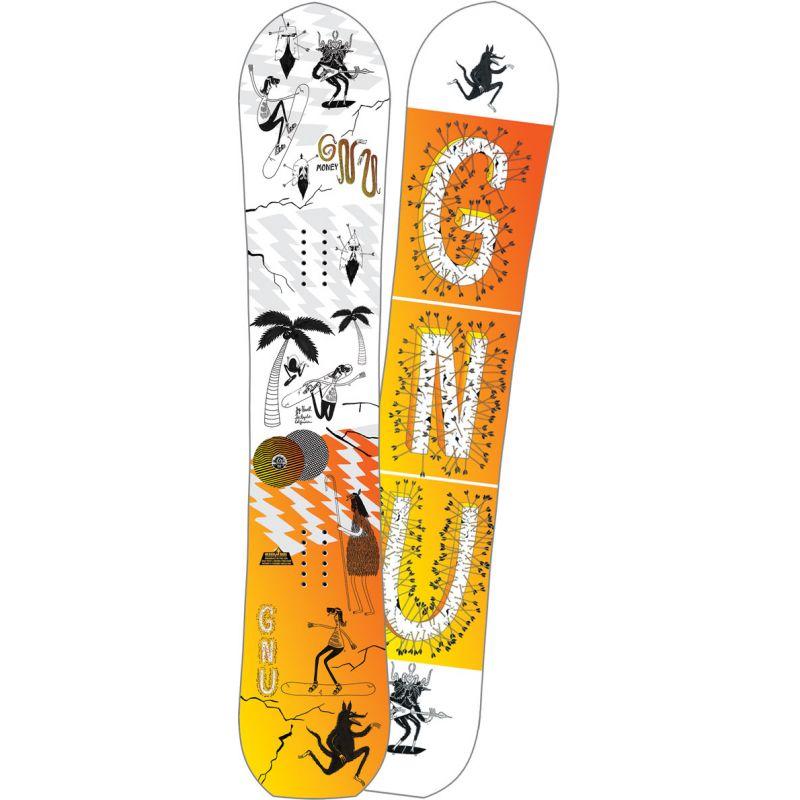 GNU money - bílá - 154W