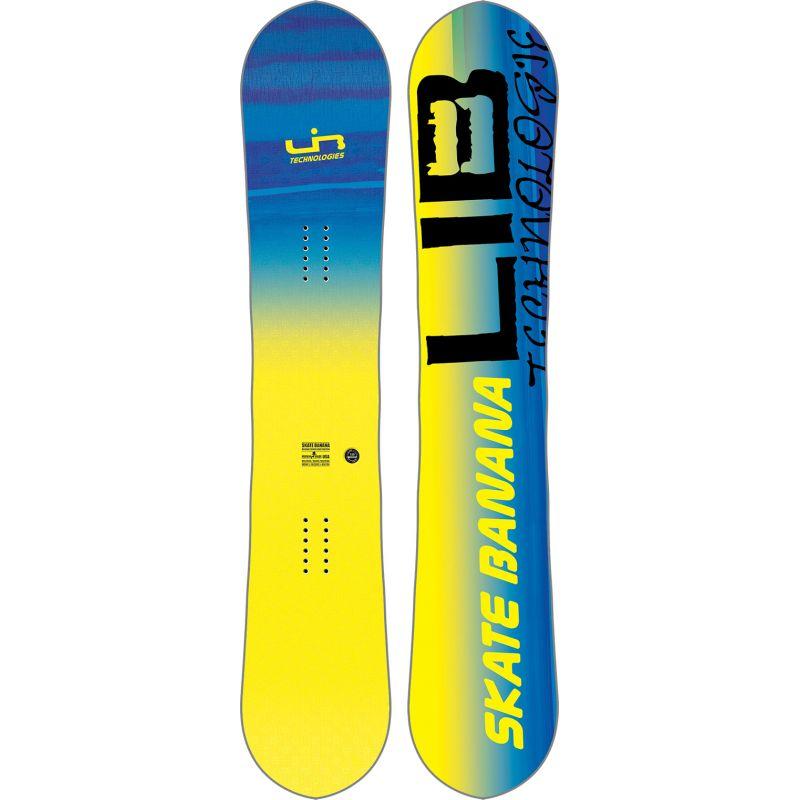 SNOWBOARD LIB TECH SK8 BANANA BTX - žlutá - 156