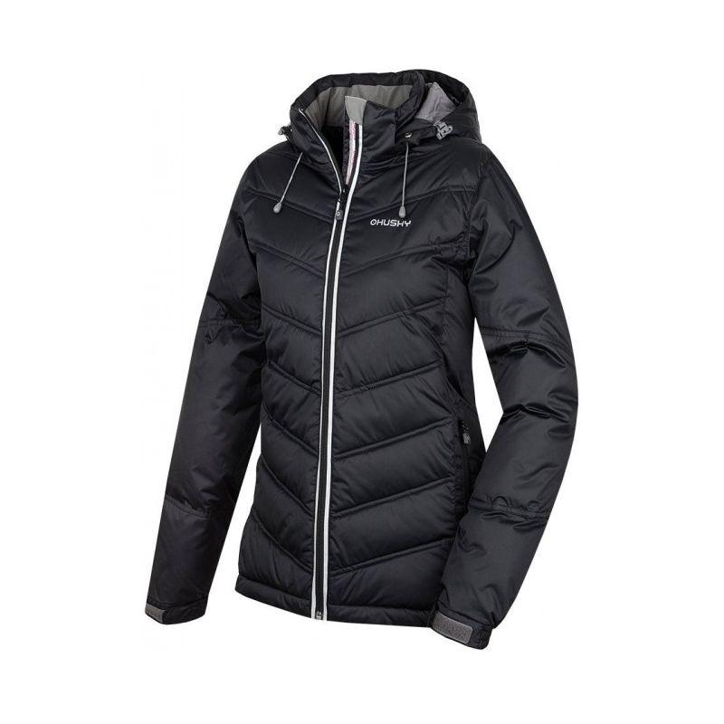 Husky dámská zimní bunda Naral modrá, L - černá (husky) - S