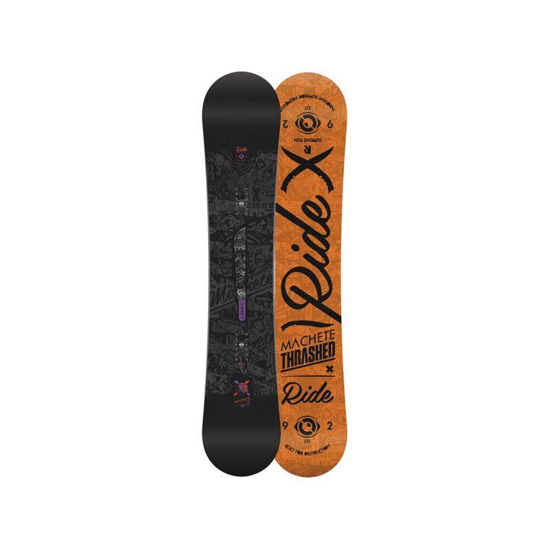 RIDE MACHETE WIDE SNOWBOARD - černá (161W) - 161W