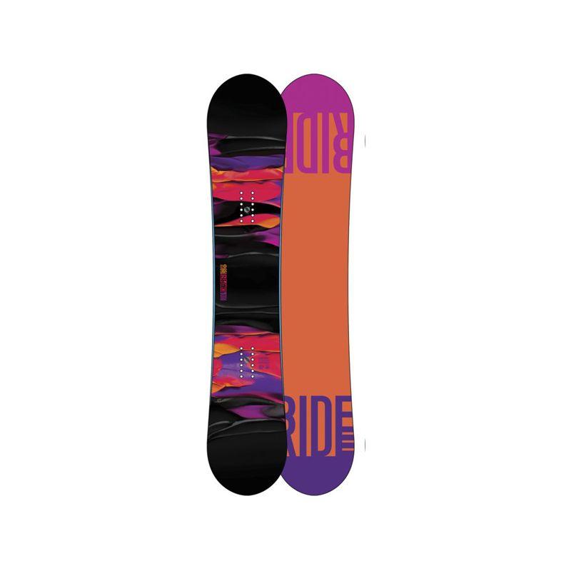RIDE COMPACT SNOWBOARD - černá (150) - 150