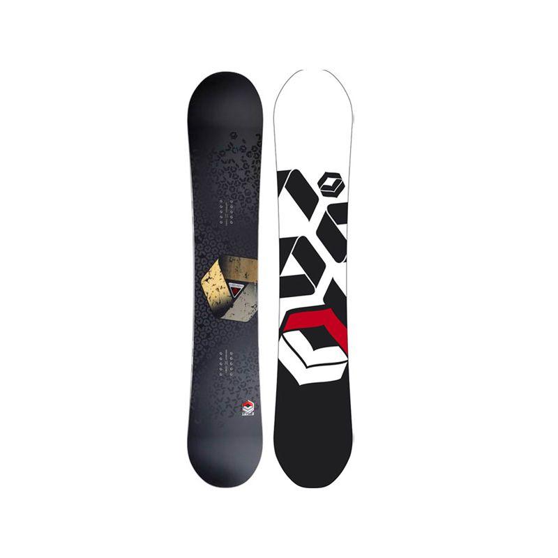 F2 REAL SNOWBOARD - černá - 160