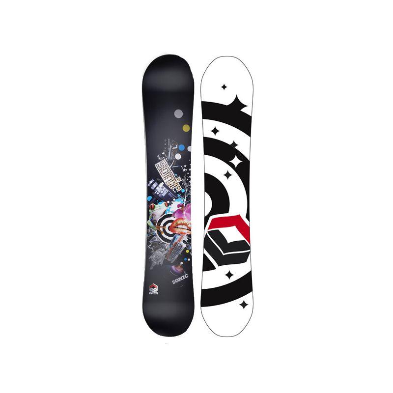 F2 SONIC SNOWBOARD - černá - 160