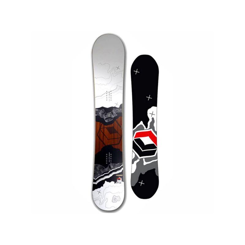 F2 RESPECT SNOWBOARD - bílá - 160