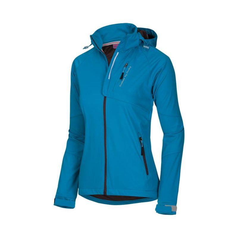 Husky dámská softshell bunda Agata modrá, L - azurová (husky) - M