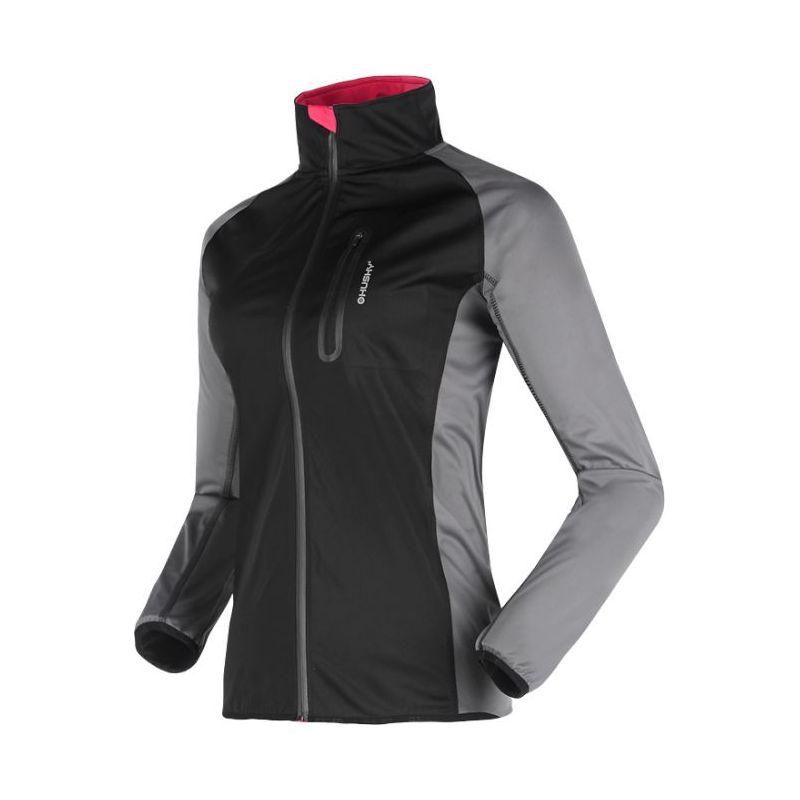 Husky dámská softshell bunda Hallie černá, XXL - černá (husky) - XL