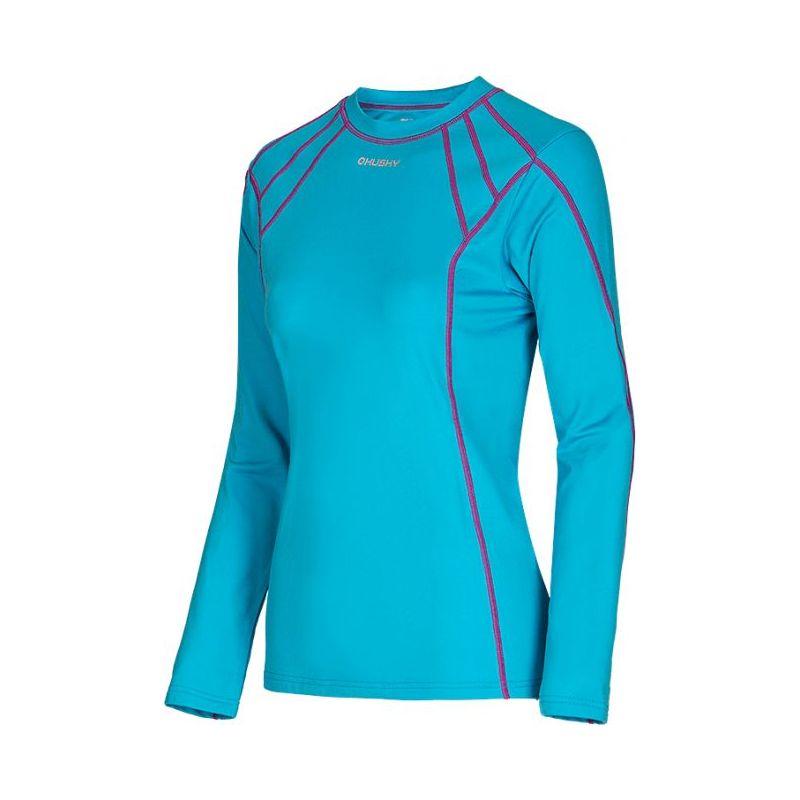 Husky dámské termo triko - podzim, zima T-EB long sleeve L modrá, XL - tyrkysová (husky) - M