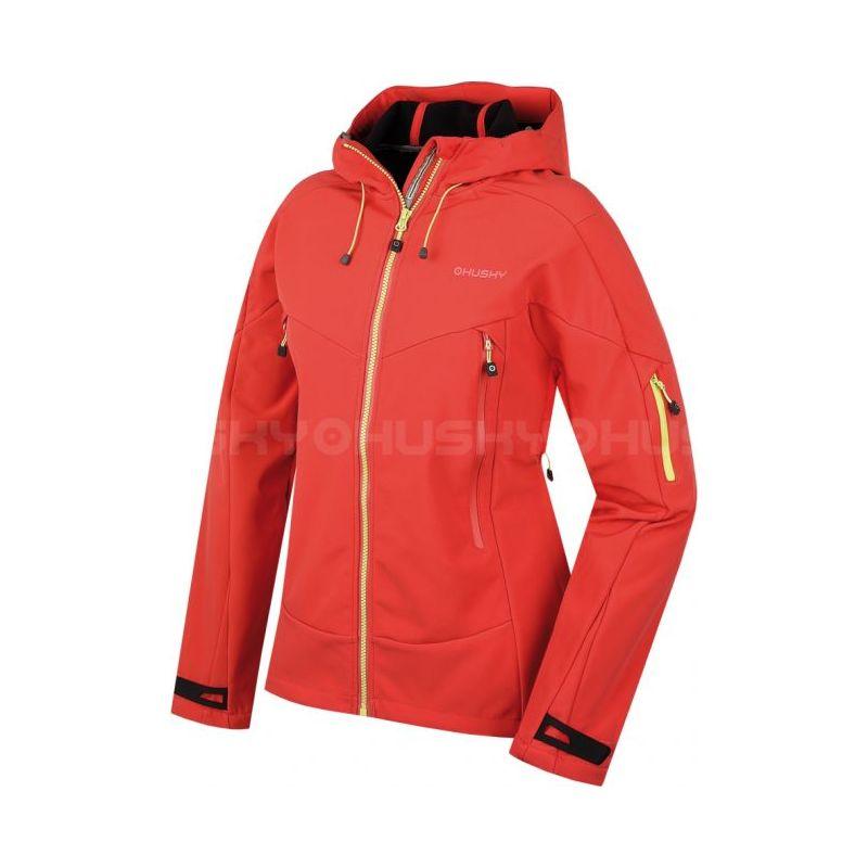 Husky dámská softshell bunda Breton L růžová, XL - růžová (husky) - M