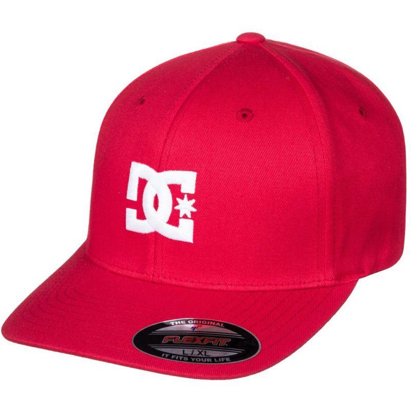 DC cap star - červená - S/M