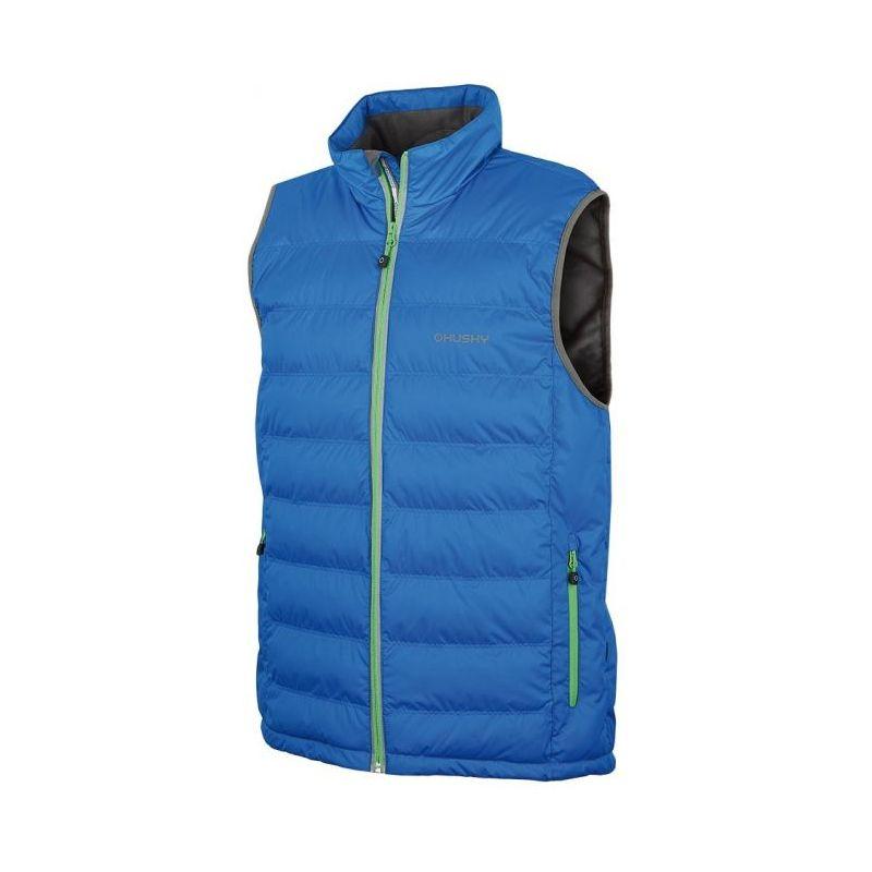 Husky pánská vesta Nerdest modrá, XXL - modrá (husky) - XL
