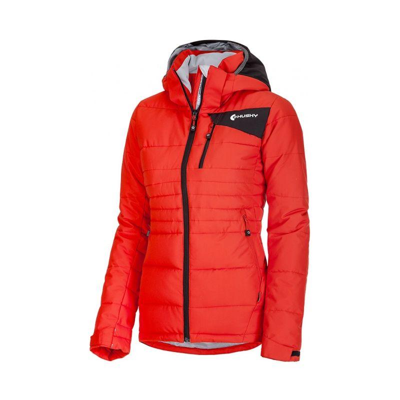 Husky dámská zimní bunda Norel L červená, XL - červená (husky) - XL