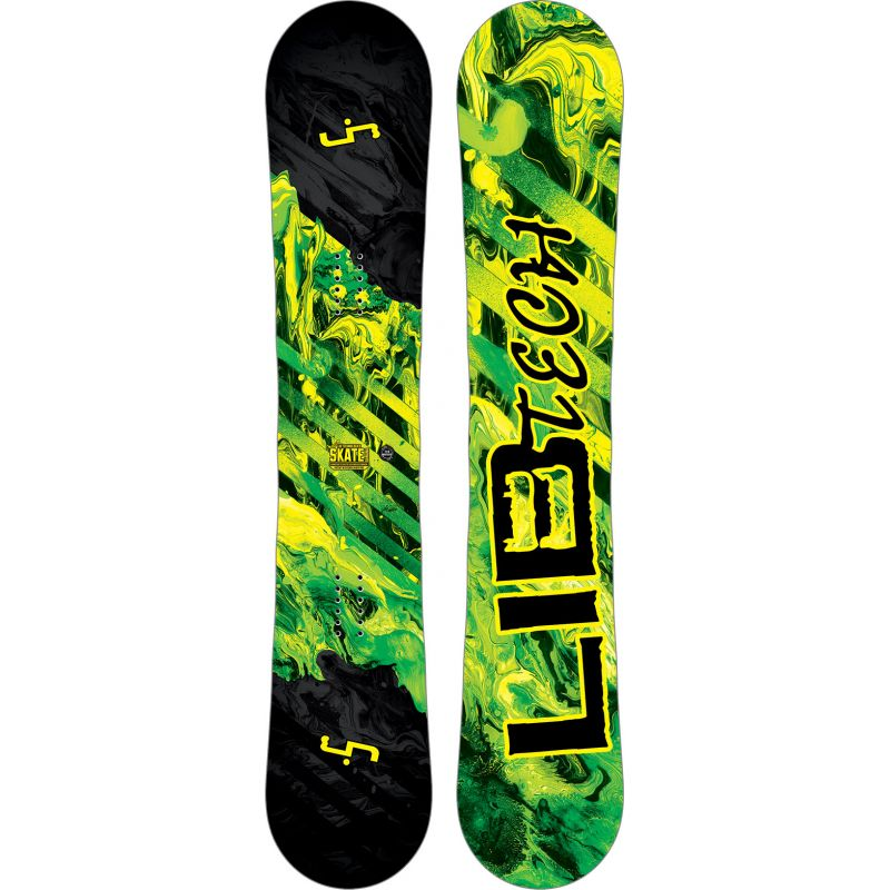 SNOWBOARD LIB TECH SK8 BANANA 149 - černá (YEL) - 149