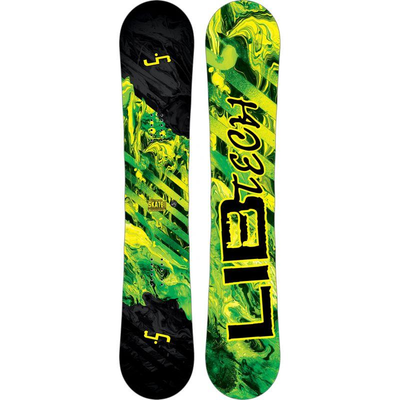 SNOWBOARD LIB TECH SK8 BANANA 159w y - černá (YEL) - 159W