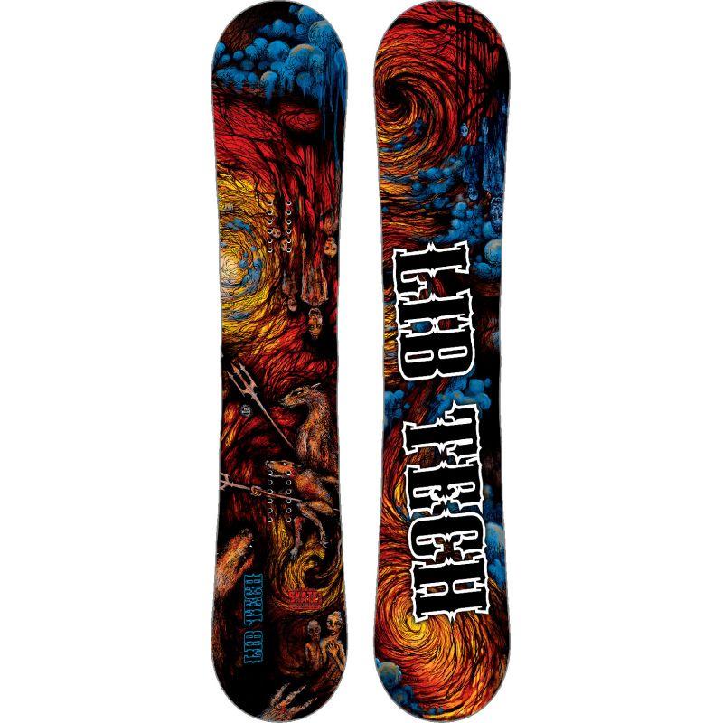 SNOWBOARD LIB TECH HELL SK8 BAN 156 BTX - červená (156) - 156