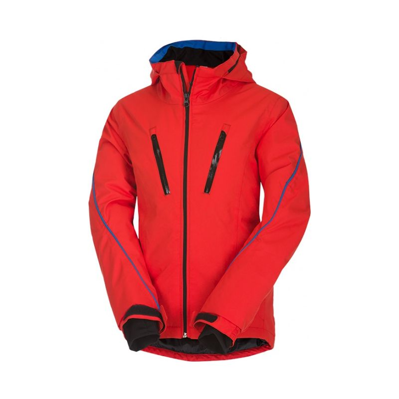 Husky dětská lyžařská bunda Lona modrá, 146 - červená (husky) - 146