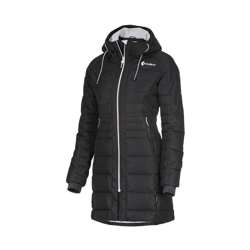 Husky dámský zimní kabátek Normy černá, XL - černá (husky) - L