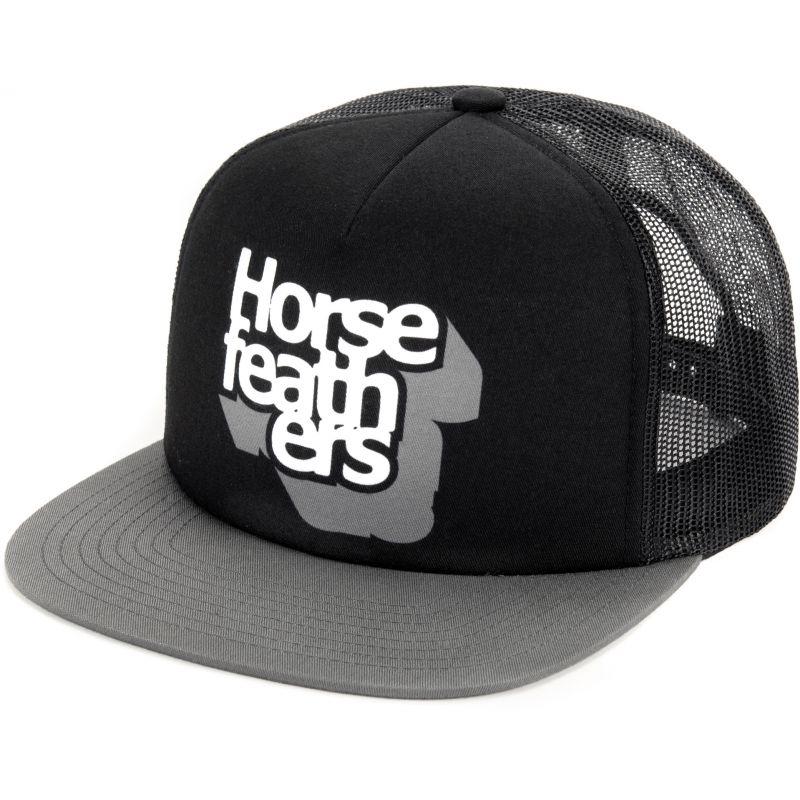 KŠILTOVKA HORSEFEATHERS CRAPS - černá