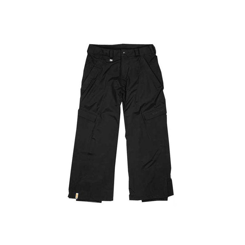 BONFIRE PARTICLE SNOWBOARD KALHOTY - černá (BLK) - XL