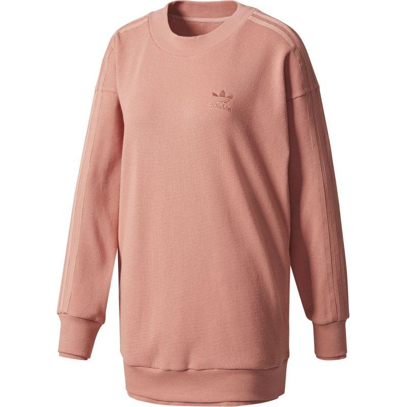 Adidas sweatshirt - oranžová - 36